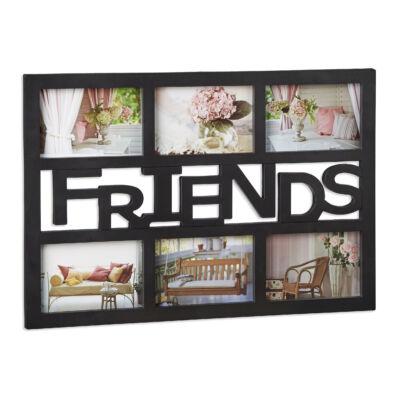 Friends képkeret fekete színben