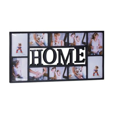 HOME Képkeret 10 Fotónak, 2 Színben