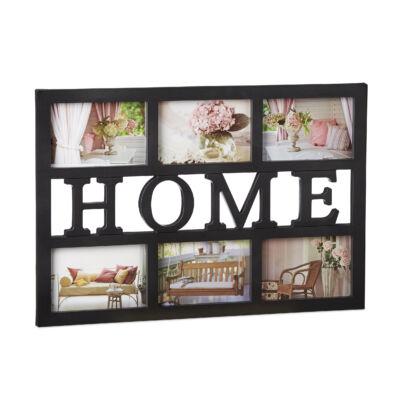 HOME Képkeret 6 Fotónak, 2 Színben