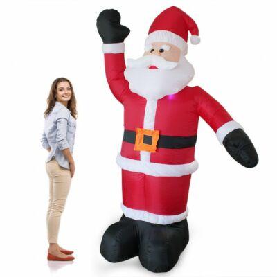 Santa 2,4 méteres felfújható karácsonyi Dekoráció