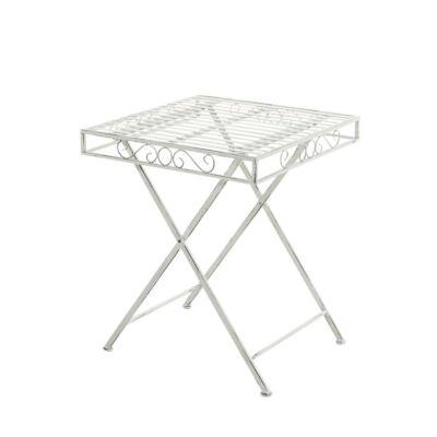 FUNDA Kerti Asztal, Antik-Fehér