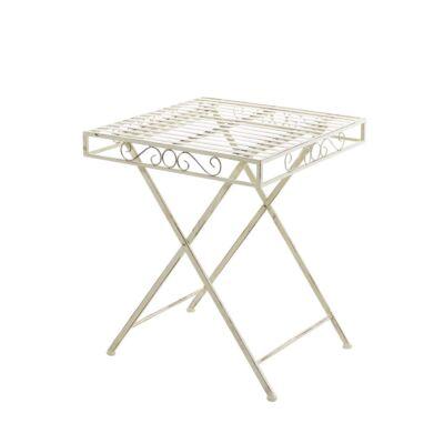 FUNDA Kerti Asztal, Antik-Krém