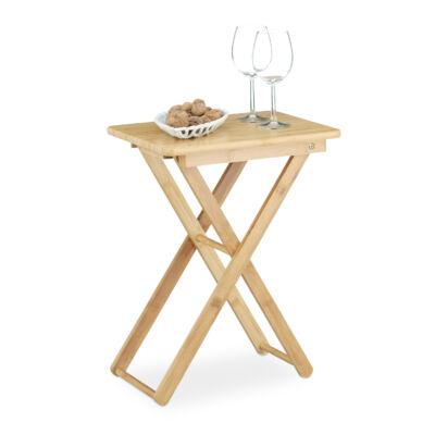 HISA Bambusz Összecsukható Asztal