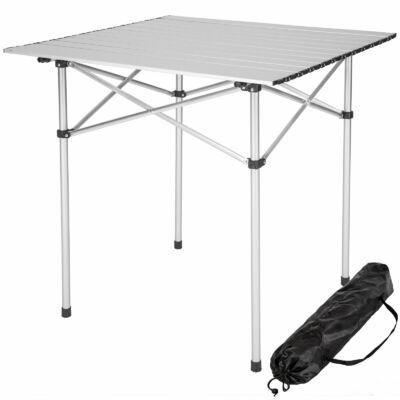Hordozható Alumínium Kemping Asztal 70 x 70 x 70 cm