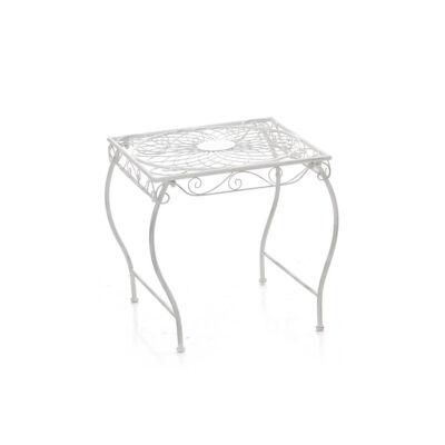 ZARINA Kerti Asztal, Antik Fehér