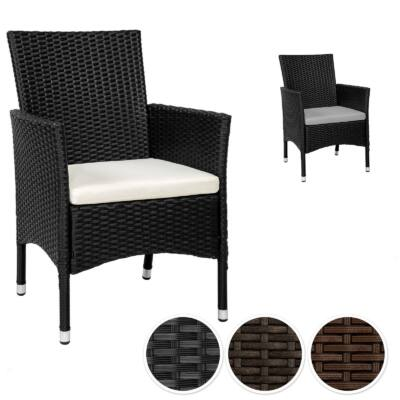 Ernest polyrattan kerti szék és fotel két garnitúra párnával
