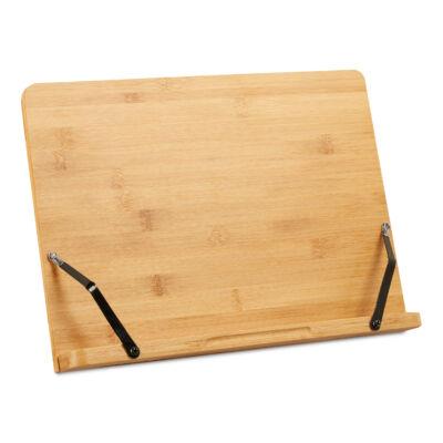 RIVKA Bambusz Könyv, kotta és szakácskönyvtartó