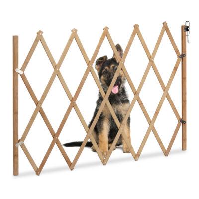 Fa Biztonsági Kapu Kutyáknak