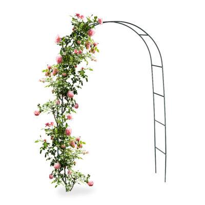 alap rózsafuttató keret és rózsalugas zöld színben