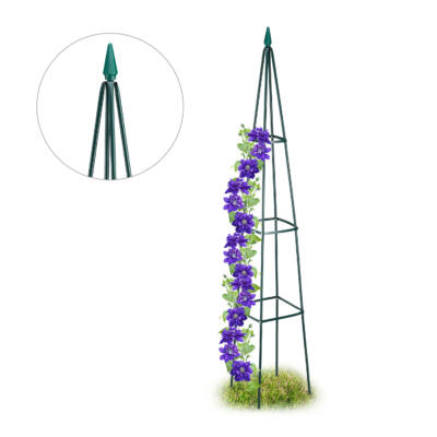 Rózsafuttató Keret, Obeliszk Virágfuttató 192 cm