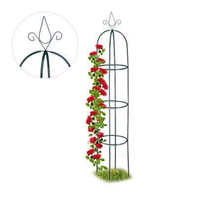 Rózsafuttató Keret, Obeliszk Virágfuttató 200 cm