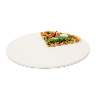 Kompakt 1 cm vastag pizzakő kordiritből