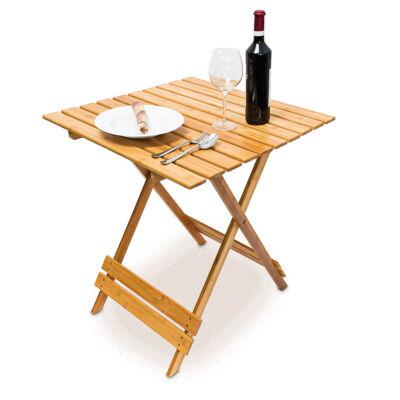 IWAKI Összecsukható Bambusz Asztal