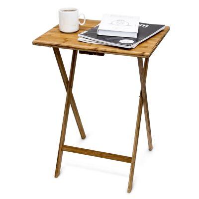 SIDE Összecsukható Bambusz Asztal