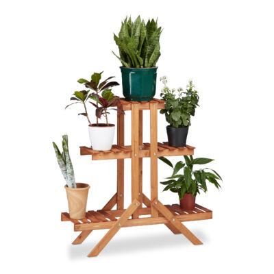 Göran fa virágtartó állvány