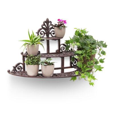 CAST Öntöttvas Virágtartó